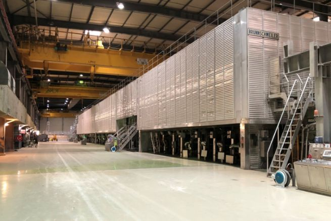 The Alizay paper machine from Double A